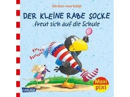 Maxi Pixi 315: Rabe Socke freut sich auf die Schul