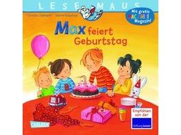 LESEMAUS 21: Max feiert Geburtstag