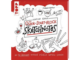 Sketchnotes. Der Quick-Start-Block