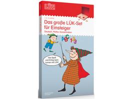 Das große LÜK-Set für Einsteiger: Deutsch, Mathe,