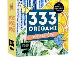 333 Origami - Watercolor
