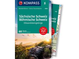 KOMPASS Wanderführer Sächsische Schweiz, Böhmische