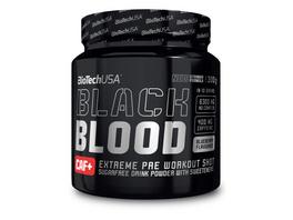 BiotechUSA Black Blood CAF+ 300g - Blaue Traube
