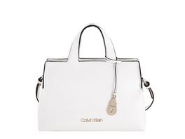 Calvin Klein Kurzgriff Tasche Neat Tote MD white