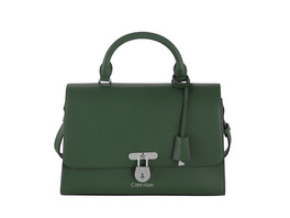Calvin Klein Kurzgriff Tasche Dressed Business Top Handle MD green