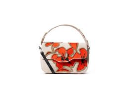 Desigual Umhängetasche Hibiscus Rock Amorgos red/beige