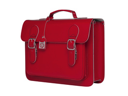 CEEVEE Leather Aktentasche Catchall Business red
