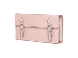 CEEVEE Leather Clutch Catchall Night ivory