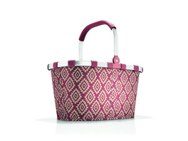 reisenthel Einkaufskorb carrybag gemustert 22l diamonds rouge