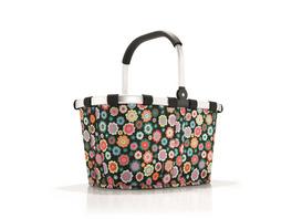 reisenthel Einkaufskorb carrybag gemustert 22l happy flowers