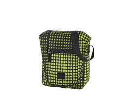 "Rada Tablettasche CT/2/S 10"" lime green dots"