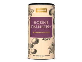 Cranberry-Rosine-Mix in Kokosschokolade